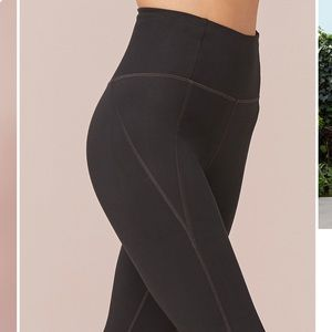 Compressive high waisted leggings